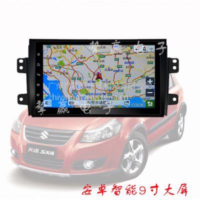 供应铃木天语 雨燕 维特拉 安卓大屏机车载GPS导航仪 厂家直销 4S店专供