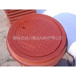 供应宏润兴硅塑复合材料井盖厂家直销
