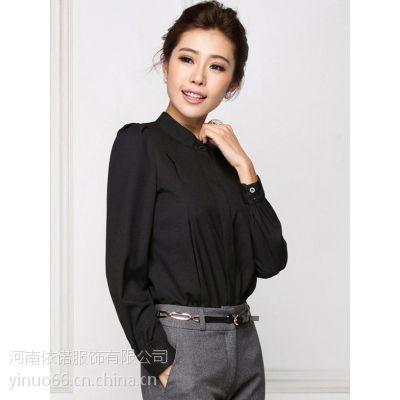 济源厂家定做女式衬衫商务白领职业装量体定制