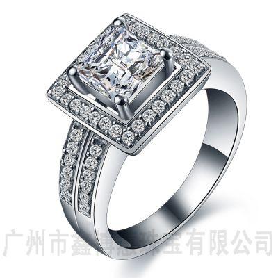 原创设计毕业生戒指广州品牌银饰加工925银欧美戒指