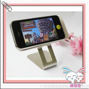 供应创意商务礼品不锈钢旋转手机底座 手机防滑底座 手机支架