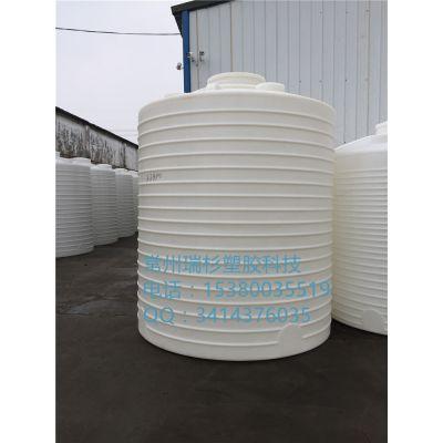 瑞杉供应杭州1500L塑料PE耐酸碱水箱