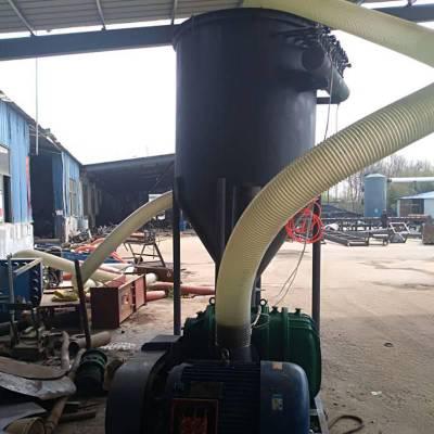 气力除尘吸粮机 谷物吸粮机型号 风力高扬程气力输送机