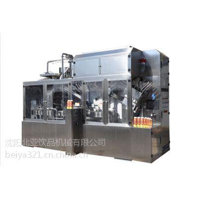 供应屋顶盒灌装机果汁饮料包装机价格便宜质量可靠!