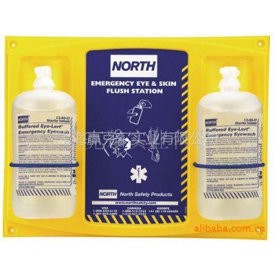 供应诺斯NORTH洗眼液 霍尼韦尔洗眼器 眼镜皮肤清洗液 单双挂板洗眼液