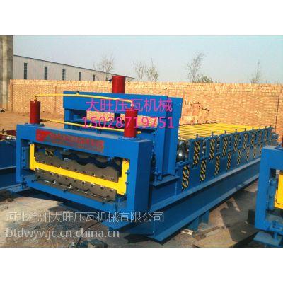 供应840/900或860/850型全自动高配双层彩钢琉璃瓦压瓦机