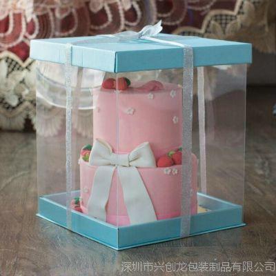 新款上市 6寸8寸芭比娃娃盒 塑料透明盒子礼品包装盒