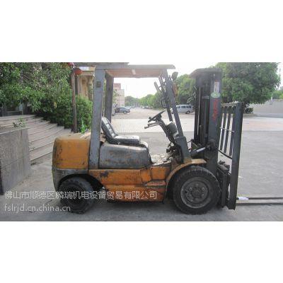 佛山二手叉车 低价租售台二手TCM3吨3米柴油叉车