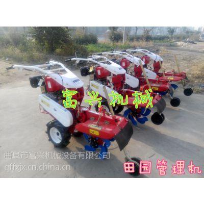 多功能田园管理机 可调是开沟培土机 富兴土壤耕整机械厂家