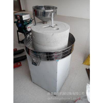 鼎达单相电石磨机 干湿两用石磨机 磨浆机