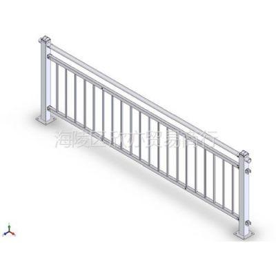 供应昆明热镀锌楼梯扶手  楼梯扶手简单耐用  组装式楼梯扶手 护栏厂家直销