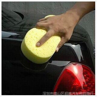 洗车专用养护海绵批发 8字形高密度海绵 擦车海绵 汽车用品