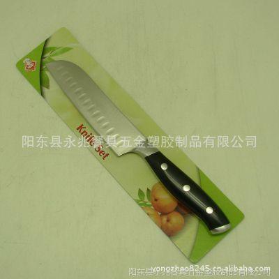 ABS柄牛排刀  日本刀  钢头牛排刀