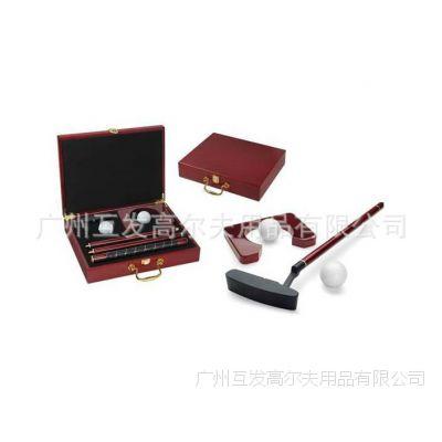 厂家高尔夫红木推杆礼品 礼品套装  摆件礼品 烟灰缸