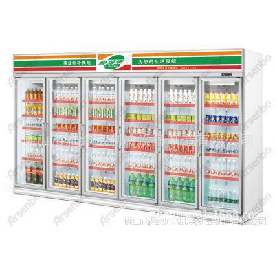 HG22L4FB 饮料冷柜 7-11水柜图片 7-11冰柜价格 7-11冷柜厂家