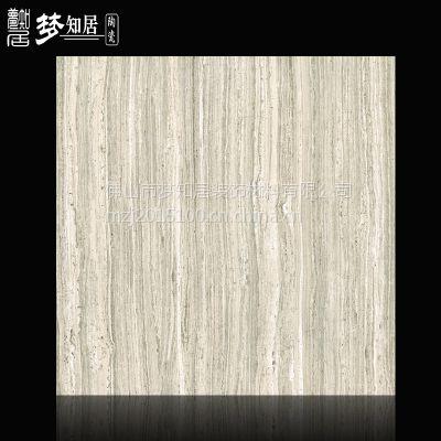厂家直销,佛山发源地陶瓷,法国木纹灰大理石地板砖,墙砖,工程出口瓷砖