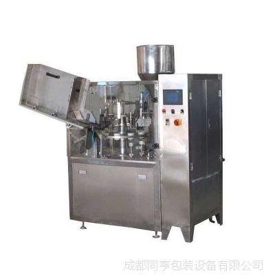 软管灌装封尾机DFNF-40型 成都同亨包装设备 罐装机械 厂价直销