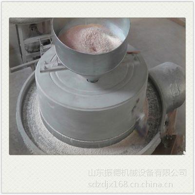 全自动石磨磨粉机 五谷杂粮面粉石磨机 高效率电石磨机热销