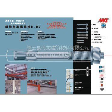 供应德国原装进口MKT曼卡特扭矩控制式螺栓型锚栓B,B-L