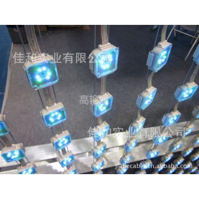 供应视频像素灯、LED彩幕显示屏钢丝绳/LED点光源钢丝绳
