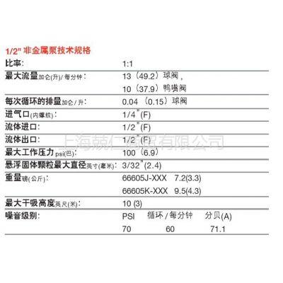 供应英格索兰隔膜泵半寸泵66605J-344