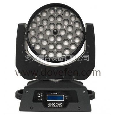 供应36颗10W四合一LED全彩调焦摇头灯