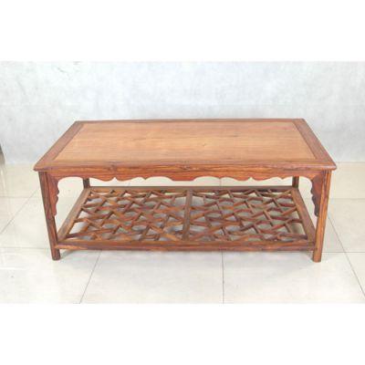 成都中式家具 定制实木厂家 客厅家具 桌类