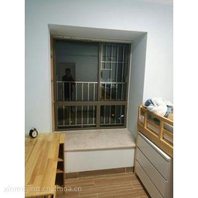 西安推拉隔音窗欣美静铝合金左右推拉隔音窗