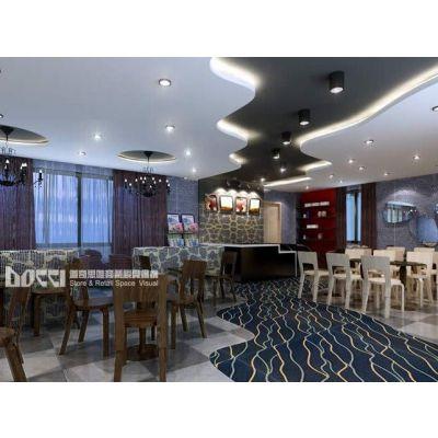 供应餐饮店面设计及专卖店设计与装修施工服务