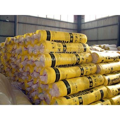 供应100厚90kg彩色玻璃棉卷毡每立方多少钱