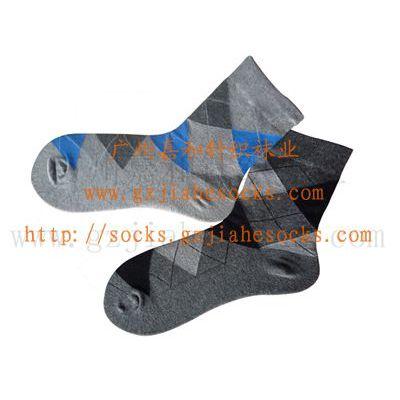 供应广州加工袜厂生产 广州袜子批发 袜子DIY 休闲男袜