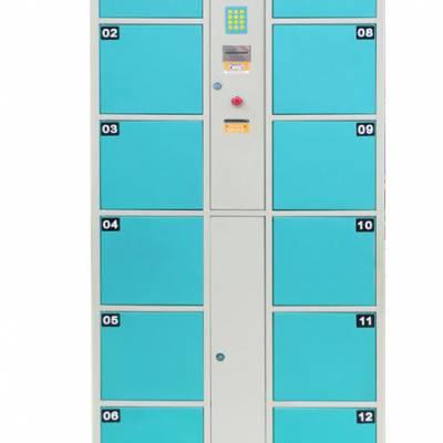 温泉 水上乐园更衣柜 9门智能衣柜鞋柜价格 配表带式ID开门卡