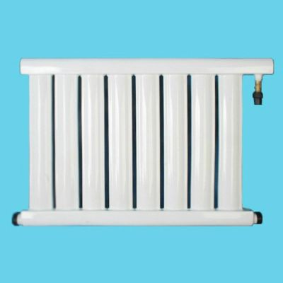 供应家用碳钢太阳能超导供暖YNFB-7025-8型免真空超导采暖暖气片散热器白色串片