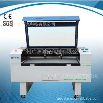 供应GY-1080D双头工艺剪纸激光切割机|切割精细贺卡纸|请柬|纸品