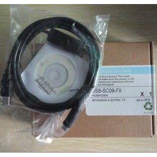 供应卖疯了!三菱plc电缆usb USB-SC09-FX FX系列,送软件和视频教程