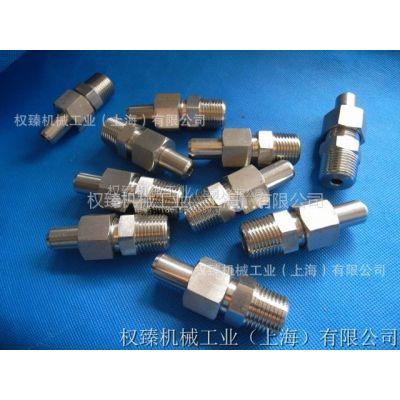 供应不锈钢304焊接式直通终端管接头 不锈钢焊接接头 4分-14MM