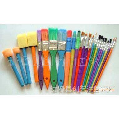 供应25pcs油画笔、多种高中档油画笔、美术画材