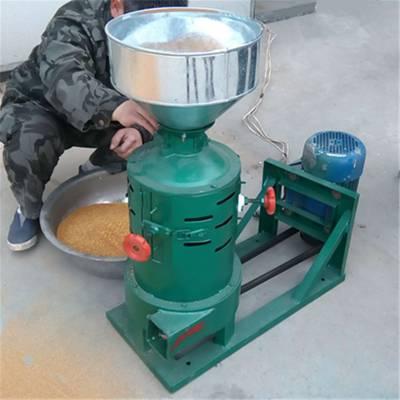 新款粮食去壳碾米机 小型碾米机批发 富民牌