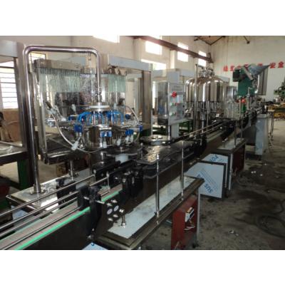 供应纯净水、矿泉水果汁酒类等冲洗灌装封口生产流水线