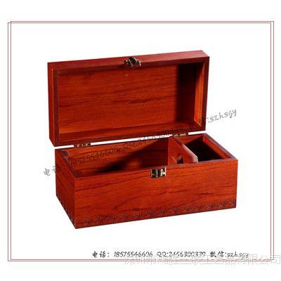 【厂家定制】红木葡萄酒盒 红木红酒盒 红木葡萄酒礼品包装盒定制