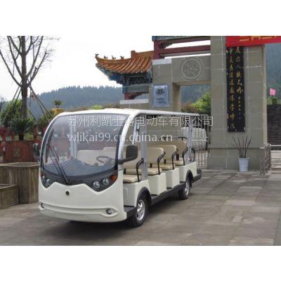 浙江蓄电电池观光车,固定平台搬运车,14座以下电动观光车