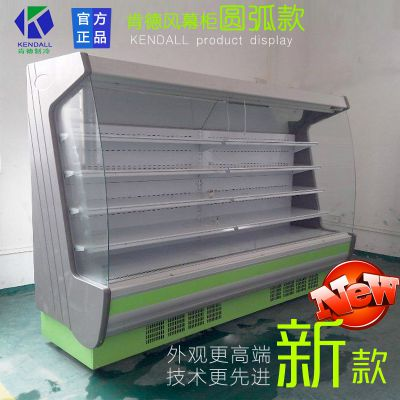 供应厂价风幕柜冷柜保鲜柜冷藏柜水果展示柜水果蔬菜展示柜厂价直销鲜奶蔬菜展示柜价格