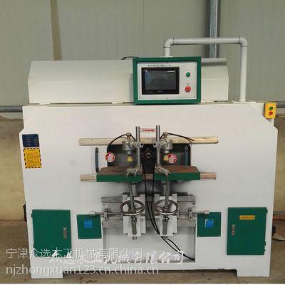 众选机械ZXA027木工数控榫头机价格,数控公母榫机,木工方榫机