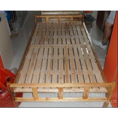 供应合肥家用备用小床 租房子折叠床 单人床 实木床 平板床