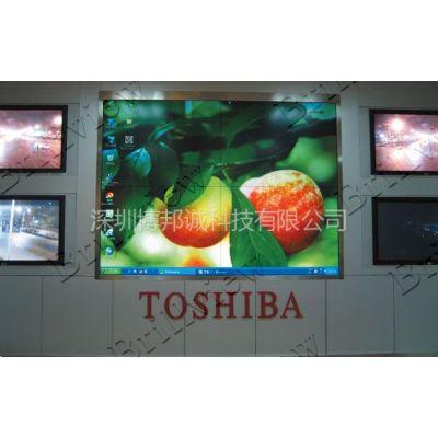 供应55寸拼接电视墙尺寸 吉林市龙潭山鹿场电视墙拼接
