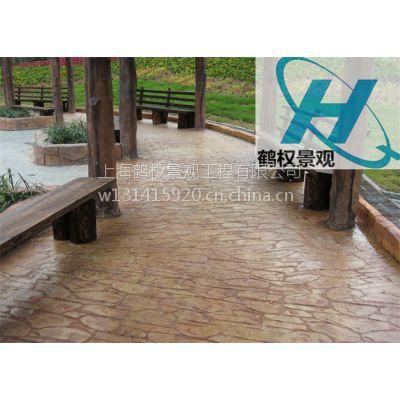 徐州压模地坪,装饰地坪艺术设计工程