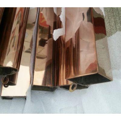 专业生产不锈钢矩管 佛山304不锈钢方通