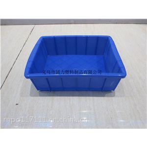 义乌塑料箱 4#塑料仪表箱 蓝水箱 长方形