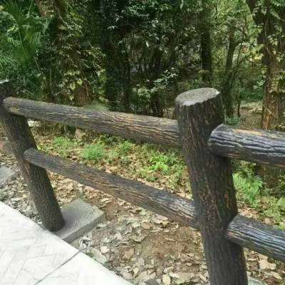 四川驰升户外栏杆、木塑、塑木(生态木)栏杆、水泥艺术栏杆、 生态木