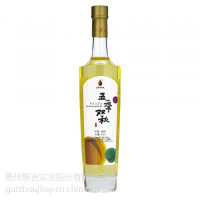 贵州特产五季双秋野生山茶油500ml月子油孕产妇食用油